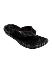 black rubber flip flop -  online shopping for Flip flops