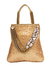 gold leather handbag -  online shopping for handbags