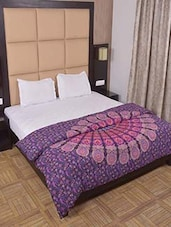 Indian Mandala Quilt Cover Ethnic Queen Duvet Cover  Cotton Bedding Throw Decor -  online shopping for Quilt Covers