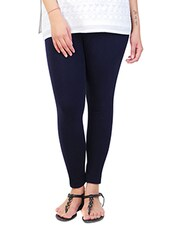 navy blue cotton leggings -  online shopping for Leggings