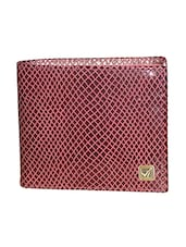 burgundy leather wallet -  online shopping for Wallets