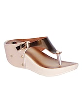 metallic toe seperator wedge -  online shopping for wedges