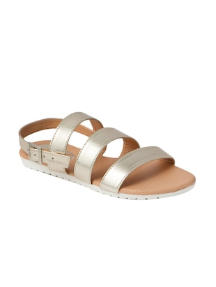 gold airmax back strap sandals -  online shopping for sandals