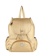 gold leather backpack -  online shopping for backpacks