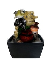 Multicolored Polyresin Indoor Water Fountain - By