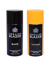 English Blazer 1 BLACK::1 VICTORY Deodorant Spray  -  For Men -  online shopping for Deodorants