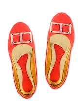 Multicolour Plain Leatherette Sandals - By - 1294452
