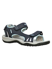 blue synthetic floaters -  online shopping for sandals