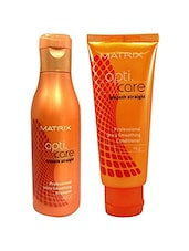 Matrix OptiCare Smooth Shampoo - 200ml & Conditioner - 98g (Set of) -  online shopping for beauty sets and combos