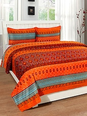 Trendz Home Furnishing SUPER SOFT VELVET DOUBLE BED COVER  WITH 2 PILLOW COVERS -  online shopping for bed covers