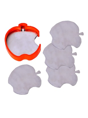 Stainless Steel Apple Coaster -  online shopping for Coasters & Trivets