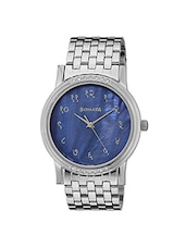 Sonata Analog Blue Dial Men's Watch - 7108TM01 -  online shopping for Analog Watches