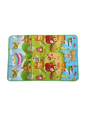 Multicolored Printed Plastic Baby Mat - By