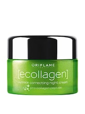 Oriflame Ecollagen Wrinkle Correcting Night Cream(50 Ml) - By
