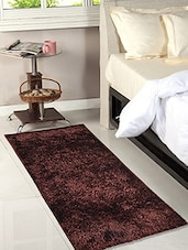 Brown Polyester Floor Runner -  online shopping for Floor Runners