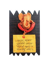GANESHA WOODEN WALL HANGING -  online shopping for Wall Hanging