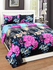 Trendz Home Furnishing Printed Double Bedsheet With 2 Pillow Covers -  online shopping for bed sheet sets