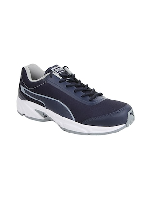 navy mesh lace up sport shoes -  online shopping for Sport Shoes