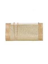 gold rexene clutch -  online shopping for clutches