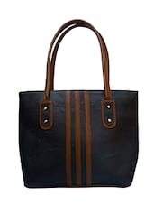 black synthetic leather handbag -  online shopping for handbags