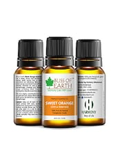 Bliss Of Earth Premium SWEET ORANGE (Citrus Sinensis) Essential Oil 10ML, 100% Pure & Natural Therapeutic Grade - By