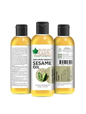 Bliss Of Earth 100% Pure Organic Sesame Oil 100ML Coldpressed & Unrefined - By