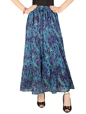 navy blue cotton aline skirts -  online shopping for Skirts