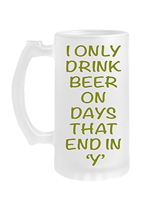 Stylish Drinking Beer Mug set of one Glass 28 -  online shopping for Beer Glasses