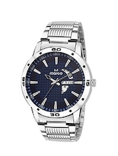 MARCO DAY N DATE MR-GR3004-BLUEE-CHAIN ELITE CLASS ANALOGUE WATCHAIN FOR MEN & BOYS -  online shopping for Analog Watches