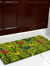Saral Home Premium Quality Heavy Duty Printed Coir Mat - By