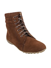 brown ankle  boot -  online shopping for boots