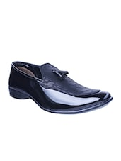 black Patent Leather slip on -  online shopping for Slip Ons
