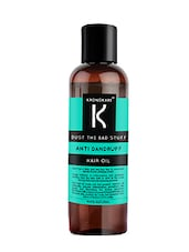 Kronokare - Bust The Bad Stuff - Anti Dandruff Hair Oil - 100 Ml - By