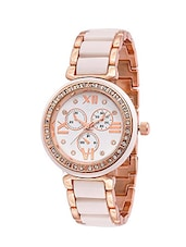 White colour Analog Wrist Watch Arrival for Girl'sBy Fashion jagat. -  online shopping for Wrist watches