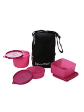 Signoraware 525 Trio With Bag 3 Containers Lunch Box 1310 ml