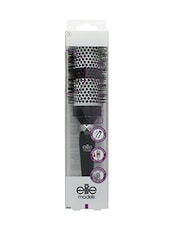 Elite Models Ceramic Round Thermal Hair Brush - Black - By