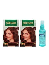 STREAX HAIR COLOR REDDISH BROWN WITH PINK ROOT HAIR SERUM - By