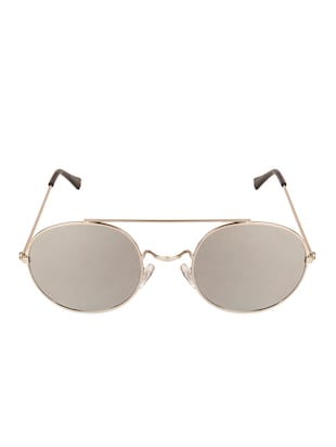 VESPL Regular Collection Silver Mercury Round Sunglasses V-S4020 -  online shopping for Sunglasses
