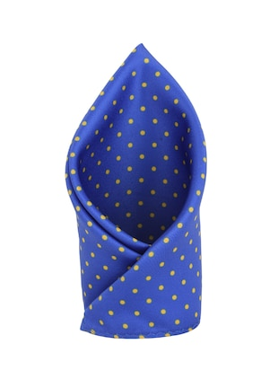 blue polyester pocketsquare -  online shopping for pocketsquares