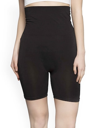 black cotton tummy tucker -  online shopping for shapewear