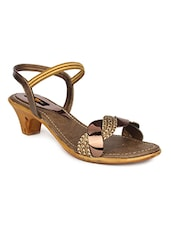 copper back strap sandal -  online shopping for sandals