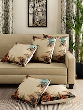 Romee Set Of 5 Polyester Printed Cushion Cover -  online shopping for Cushion Covers