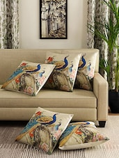 Romee Set Of 5 Polyester Printed Cushion Cover - By