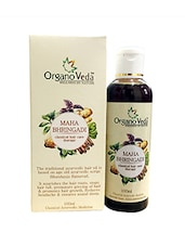 Organoveda Maha Bhringadi Hair Oil  (Classical Hair Care Therapy) - By