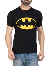 black cotton character tees tshirt -  online shopping for T-Shirts