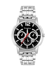 Grandlay mg-3078 black dial with chronograph watch for menz -  online shopping for Analog Watches