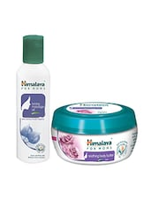 Himalaya For MoMs Tonning Massage Oil 200 Ml And Soothing Body Butter 100 Ml - By