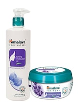 Himalaya For MoMs Tonning Massage Oil 500 Ml And Soothing Body Butter 100 Ml - By