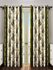Polyester Printed Set Of 2  Door Curtain - By