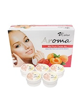 V-Color Aroma Mixed Fruit Facial Kit 270 g (5 Steps) -  online shopping for Facial Kit